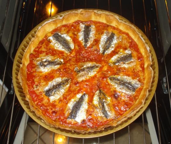 Pissaladière aux sardines