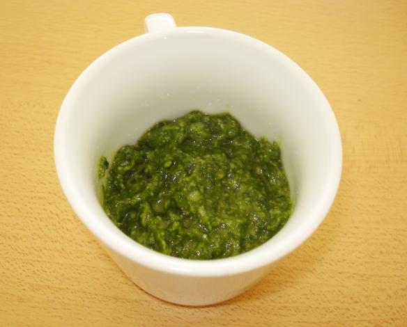 Pesto maison